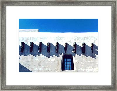 Framed Print featuring the photograph Santa Fe by Mary Bedy