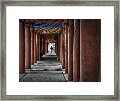 Santa Fe Nm 4 Framed Print by Ron White
