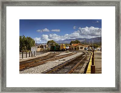 Santa Fe Rail Road Framed Print