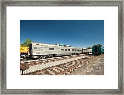 Santa Fe Railyard Framed Print by Jim Pruitt
