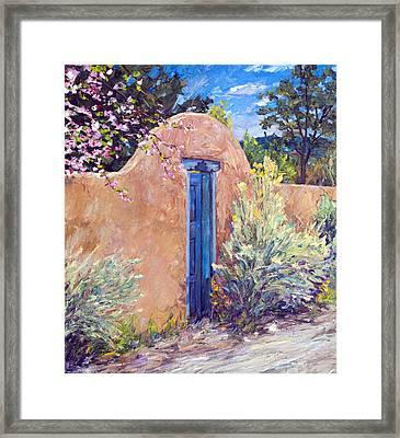 Santa Fe Splendor Framed Print