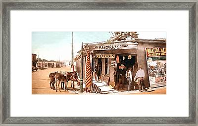 Santa Fe Store Framed Print by Unknown