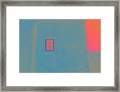 Santa Fe Sunrise Framed Print by Carol Leigh
