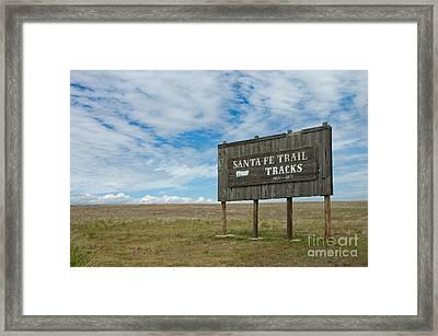Santa Fe Trail Framed Print