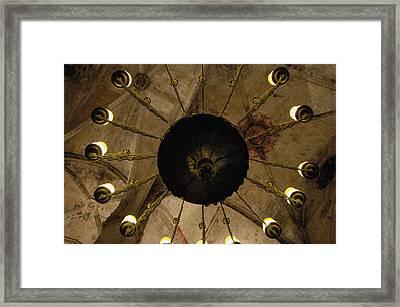 Santa Maria Del Mar Basilica IIi Framed Print by Kathy Schumann