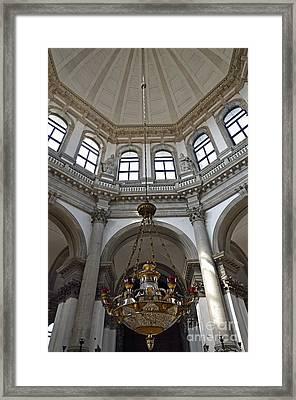 Santa Maria Della Salute Church Framed Print by Sami Sarkis
