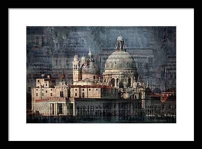 Santa Maria Della Salute Framed Prints