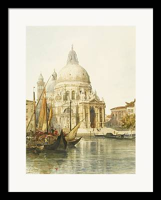 Neo-classical Drawings Framed Prints