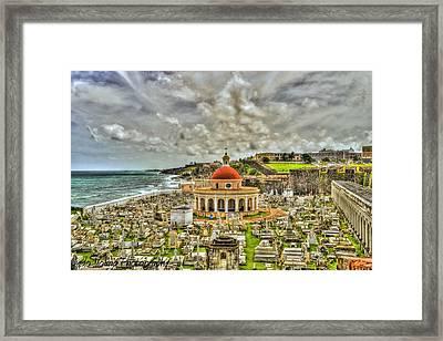 Santa Maria Madgalena Framed Print by Dado Molina