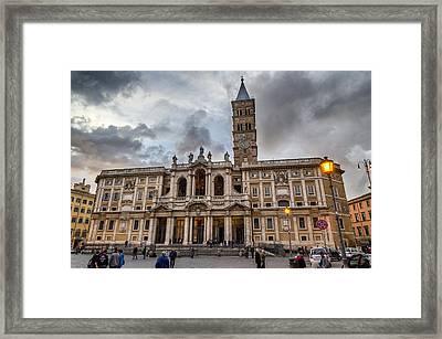 Santa Maria Maggiore Framed Print by Pablo Lopez
