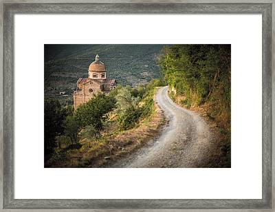 Santa Maria Nuova Framed Print by Clint Brewer