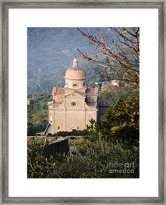 Santa Maria Nuova, Italy Framed Print by Tim Holt