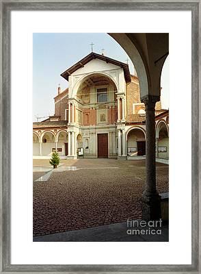 Santa Maria Nuova Framed Print by Riccardo Mottola