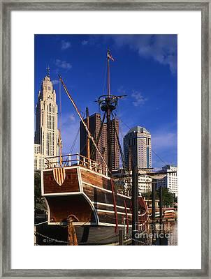Santa Maria Replica Photo Framed Print