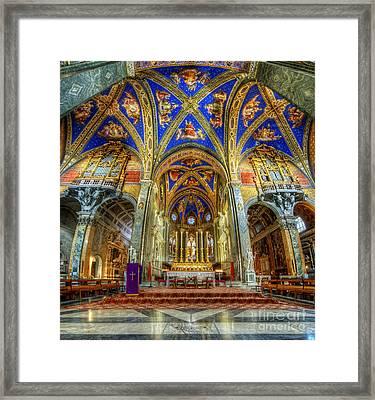 Santa Maria Sopra Minerva 2.0 Framed Print