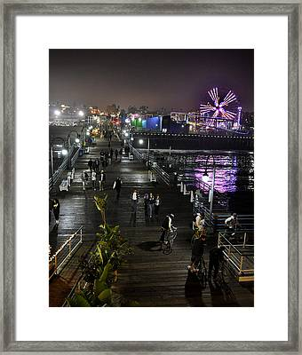 Santa Monica Framed Print by Gandz Photography