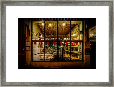 Santa-ready Pike Place Chowder After Closing Framed Print by Brian Xavier