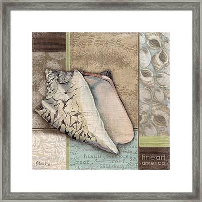 Santa Rosa Shells I Framed Print