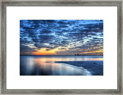 Santa Rosa Sound Framed Print by JC Findley