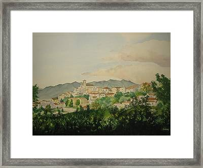 Sant'ambrogio Framed Print by Jeff Lucas