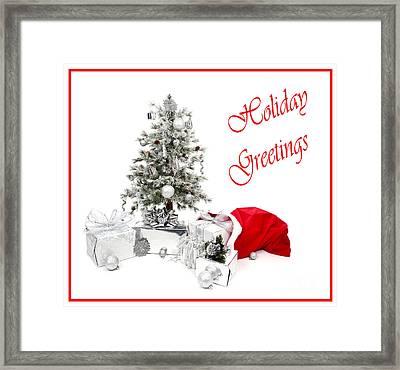Santas Bag Framed Print by Jan Tyler