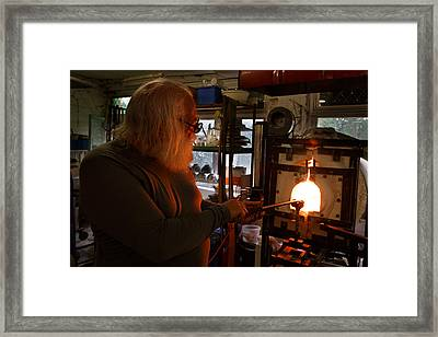 Framed Print featuring the photograph Santa's Workshop by Paul Indigo