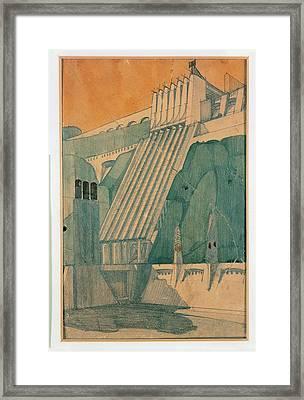 Santelia Antonio, Design Framed Print by Everett