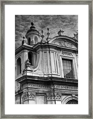 Framed Print featuring the photograph Santi Andrea E Claudio Dei Borgognoni by Matthew Ahola