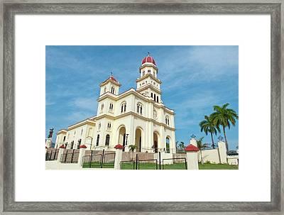 Santiago, Cuba, Famous Church Called Framed Print