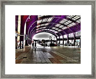 Santiago De Compostela Station Framed Print