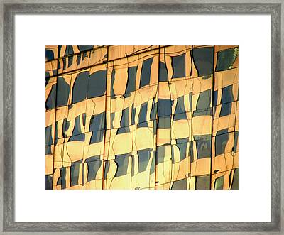Santiago Reflection II Framed Print