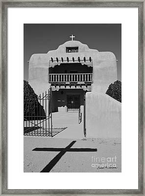 Santo Tomas De Abiquiu Church Framed Print