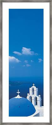 Santorini Island Greece Framed Print by Panoramic Images