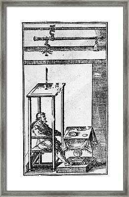 Santorio Santorio (1561-1636) Framed Print