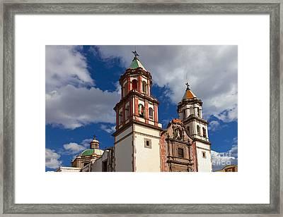 Santuario De La Congregacion De Nuestra Framed Print