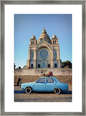 Santuario Do Sagrado Coracao De Jesus Framed Print by Pablo Lopez