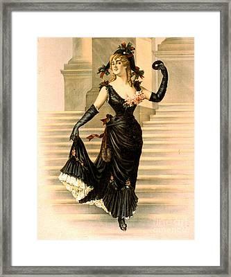 Sapho 1900 Framed Print by Padre Art