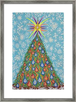 Sapin Noel Framed Print by Robert SORENSEN
