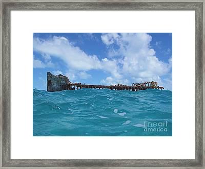 Sapona Bahamas Framed Print by Carey Chen