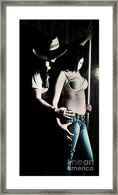 Sapphic Seduction Framed Print by Michelle Stage