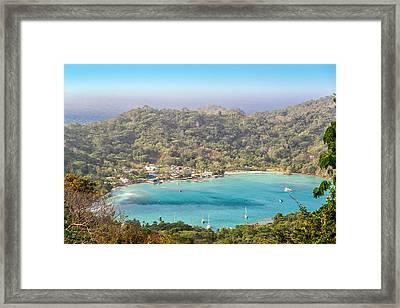 Sapzurro Bay View Framed Print by Jess Kraft