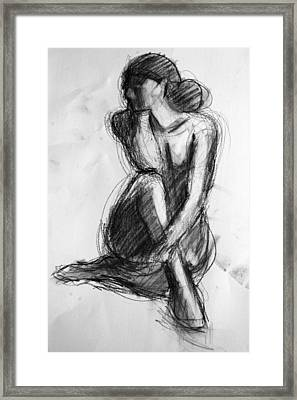 Sara Framed Print by Colleen Gallo