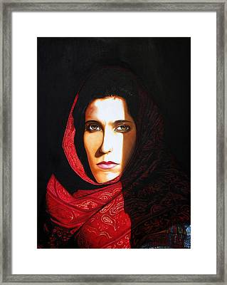 Sara Dowling Framed Print by Andrew Harrison