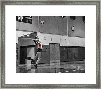 Framed Print featuring the photograph Sara Livecchi 7 by Lee Dos Santos