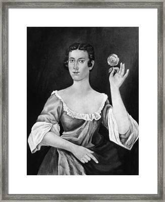 Sarah Fairfax (1730-1811) Framed Print
