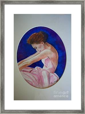 Sarah Jessica Parker Framed Print by Terri Maddin-Miller