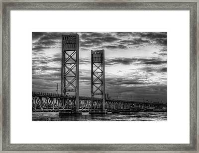 Sarah Long Bridge  Framed Print by Eric Gendron