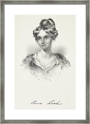 Sarah Losh Framed Print by British Library