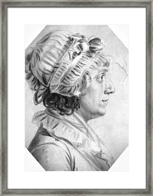 Sarah Tayloe Washington (1765-1835) Framed Print