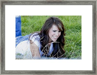 Sarah_1 Framed Print by Ivete Basso Photography